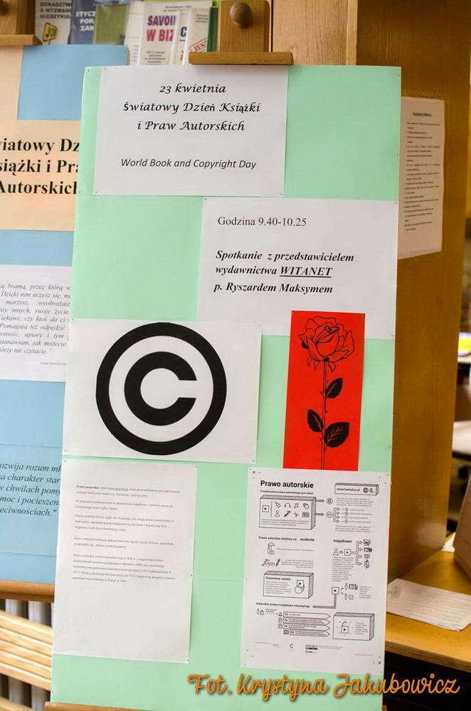 Światowy Dzień Książki i Praw Autorskich 2017